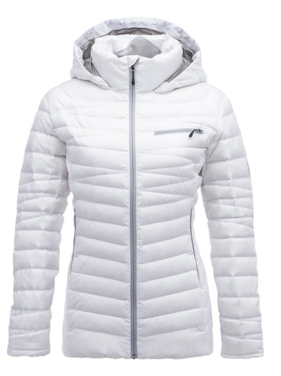 Spyder Timeless Hoody Down Jacket Damen Daunenjacke Winterjacke